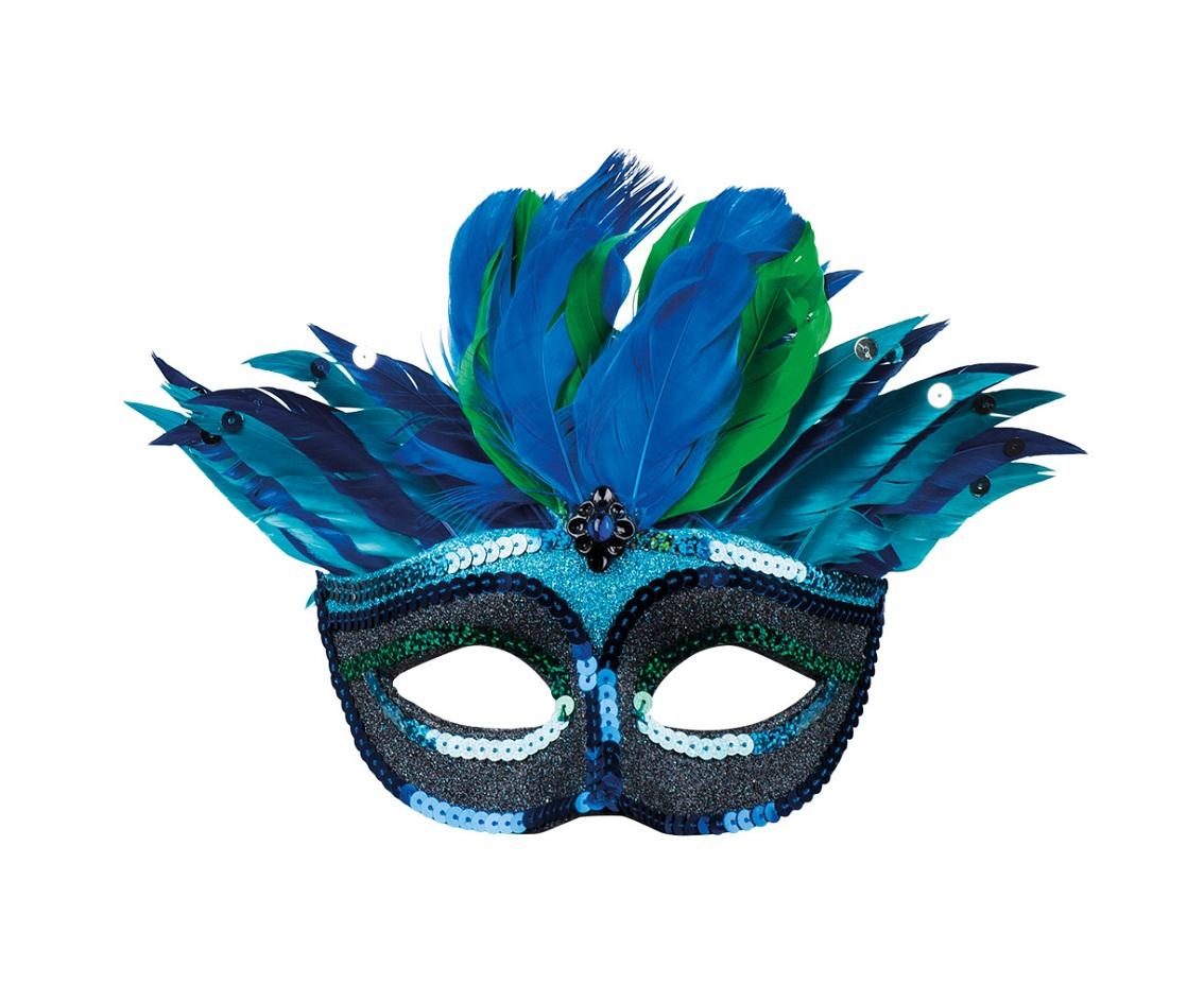Znalezione obrazy dla zapytania maska karnawałowa