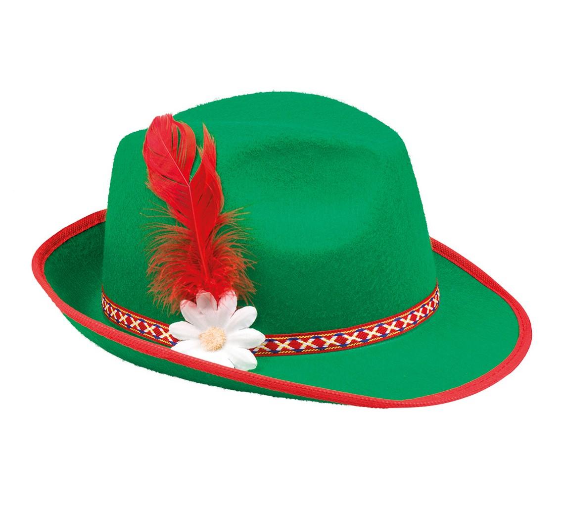 c356ebd3c Kapelusz filcowy Tyrolski, Kapelusze - Maski, kapelusze, korony, peruki