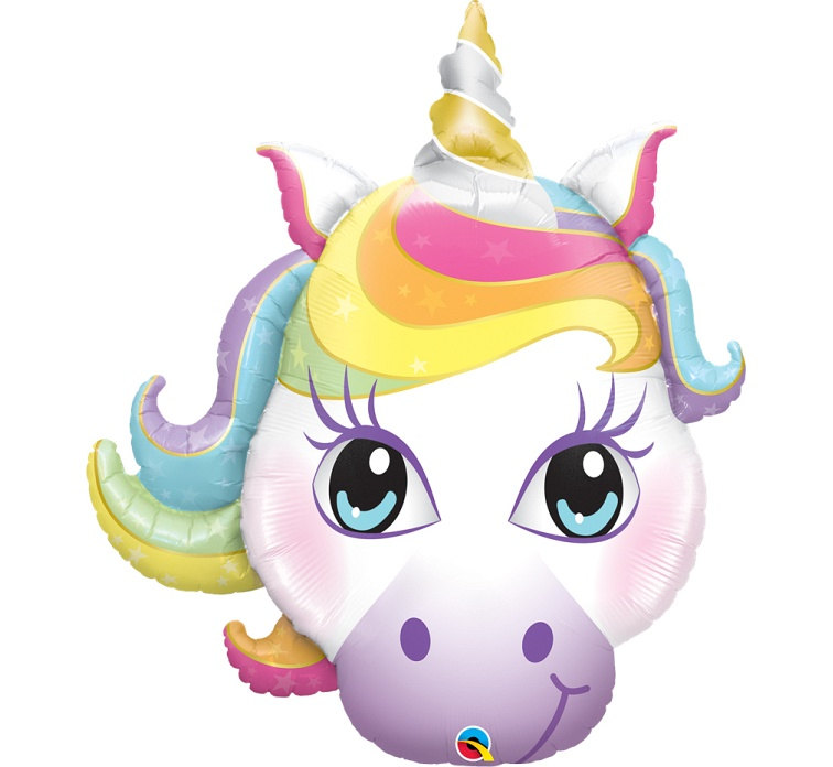 Balon foliowy 38 cali QL, Magical Unicorn
