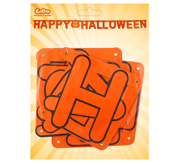 Girlanda HAPPY HALLOWEEN, 160 cm