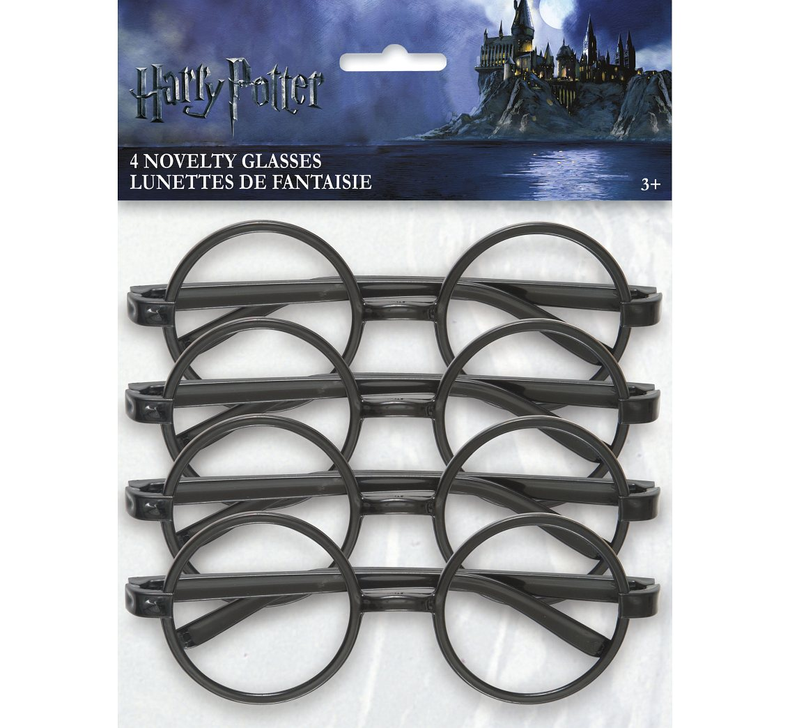 Okulary Harry Potter, 4 szt.