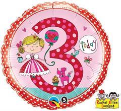 a3f0b92668e22b 3 urodziny - Uroczystości i imprezy - Sklep GoDan Party