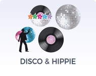 Disco, Rock & Hippie