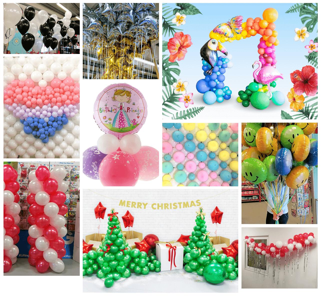 Tworzenie dekoracji balonowych